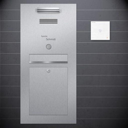 letterbox flush-mount Sprechanlage Design preiswert Audio Klingeltaster
