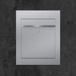 Stainless steel letterbox B3