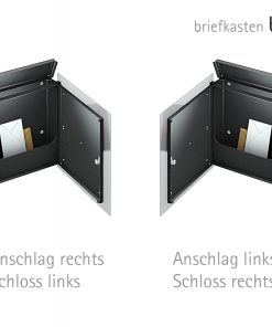 Design letterbox- geöffnet