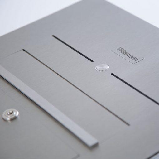 letterbox flush-mount mit Klingel und Sprechanlage
