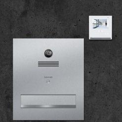 Durchwurfanlage Kamera Türsprechanlage stainless steel