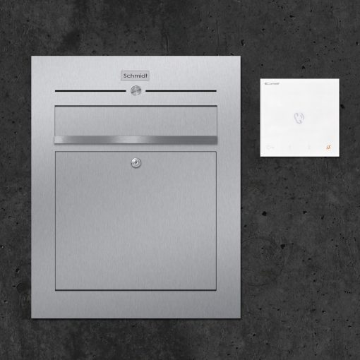 letterbox-stainless steel Türsprechanlage