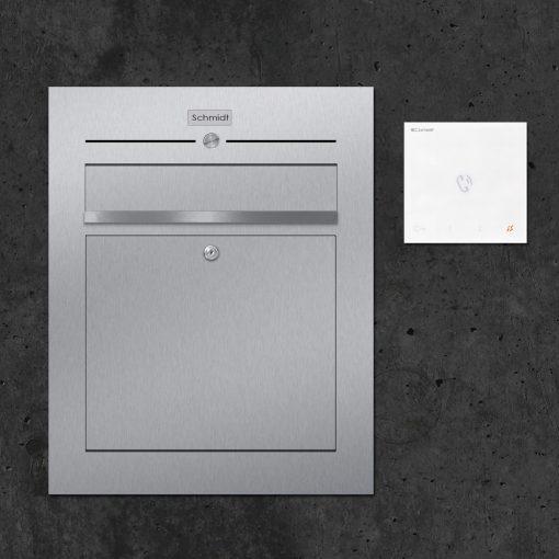 letterbox-stainless steel Türsprechanlage