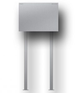 letterbox stainless steel B1 Big Steel freistehend