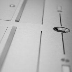 letterbox stainless steel Videosprechstelle 2 Draht 2 Familienhaus Komplettset