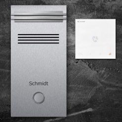 Türsprechanlange Klingeltaster LED Audio stainless steel Innenstation Sprechstelle