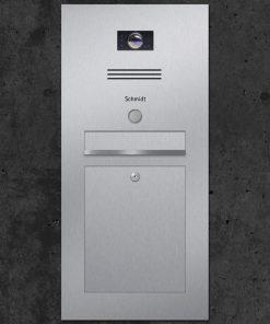letterbox stainless steel Busch-Jaeger Klingeltaster Beschriftung flush-mount