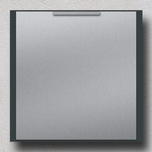 letterbox stainless steel anthracite Wandmontage