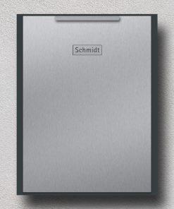 letterbox stainless steel anthracite Wandbefestigung Beschriftung