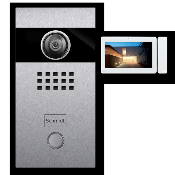 Türsprechanlage Kamera Video stainless steel 2-Draht-Technik