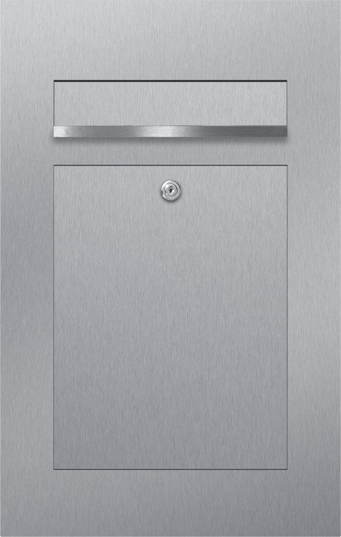 letterbox stainless steel Briefeinwurf Beschriftung