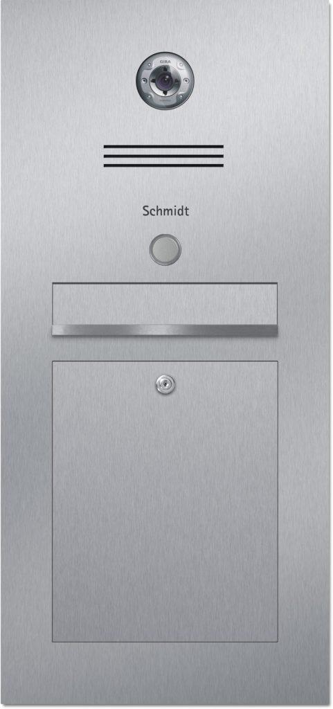 Türsprechanlage stainless steel Konfigurator Gira Beschriftung Klingel