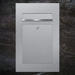 letterbox stainless steel flush-mount