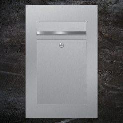 letterbox stainless steel flush-mount